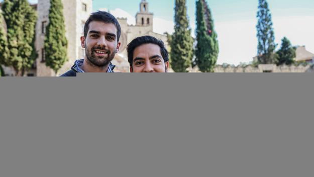 Xavi Bayle i Rodrigo Márquez són els impulsors de ZiteMe / Foto: Guillem Babitsch (Cugat Mèdia)