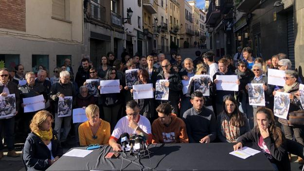 Imatge de la roda de premsa a Sant Cugat / Foto: Cugat Mèdia
