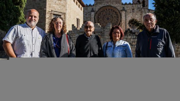 Cugat Mèdia ha reunit protagonistes de diversos moments de la història de Firart / Foto: Guillem Babitsch (Cugat Mèdia)