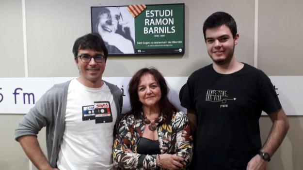 Eduard Palomarés ha visitat el programa / Foto: Cugat Mèdia