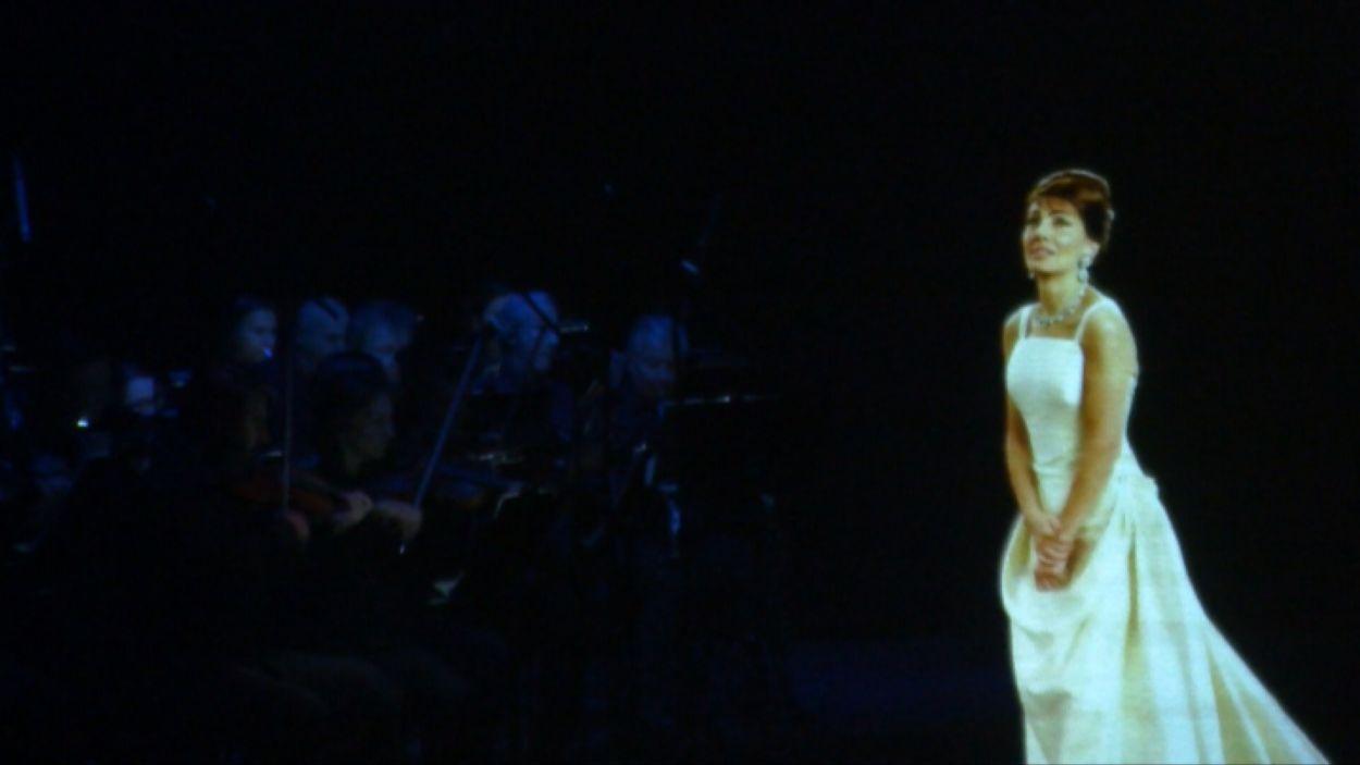 Moment d el'espectacle al Teatre-Auditori / Foto: Cugat Mèdia