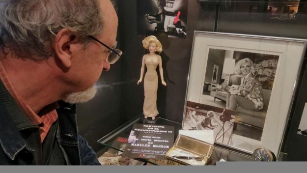 Frederic Cabanas és un dels 'marilynòfils' de referència a l'estat i arreu del món / Foto: Cugat Mèdia