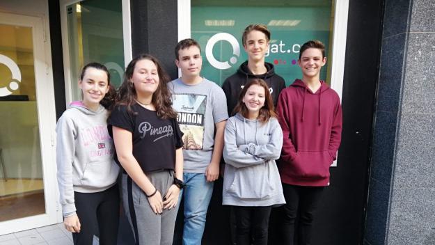 Els estudiants del Leonardo Da Vinci debaten a la ràdio sobre la presó permanentment revisable
