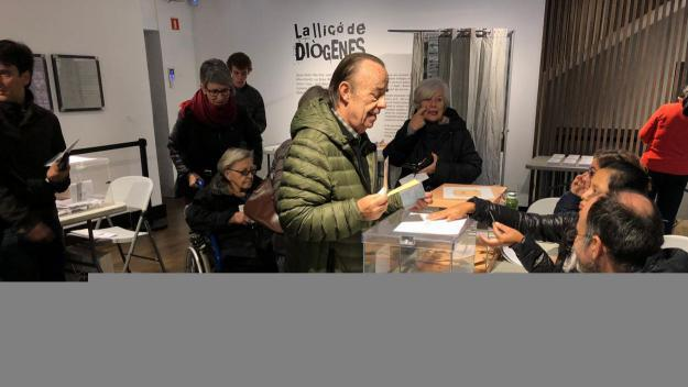Es desenvolupa sense incidències la jornada electoral a Sant Cugat