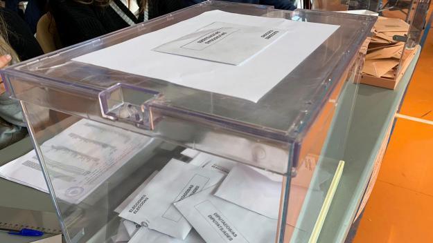 Imatge d'arxiu de la jornada de votacions / Foto: Cugat Mèdia