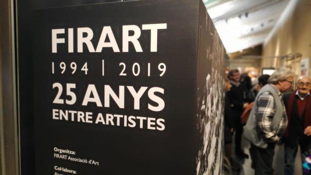 Firart: 25 anys d'història i creacions artístiques a la vista del públic