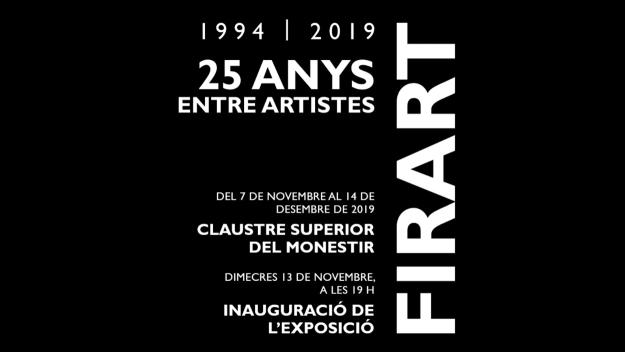 Inauguració de l'exposició retrospectiva del 25è aniversari de Firart