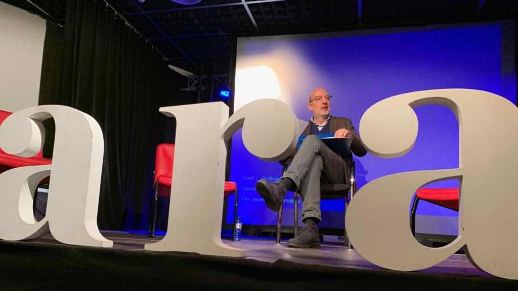 Antoni Bassas: 'M'agradaria que els periodistes tornéssim a ser imprescindibles'
