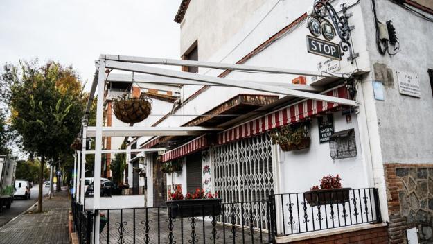 El bar Stop es troba a l'avinguda de Rius i Taulet / Foto: Guillem Babitsch