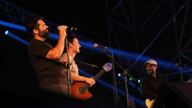 Pau Debón, esquerra, i Joan Miquel Oliver, a la dreta, eren dues de les cares visibles d'Antònia Font / Foto: ACN