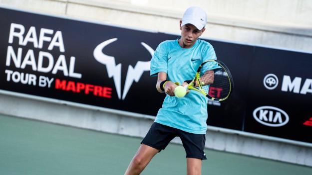 Imatge d'un partit del torneig / Foto: Rafa Nadal Tour