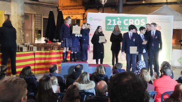 L'entrega ha tingut lloc a la plaça de Barcelona / Foto: Cugat Mèdia