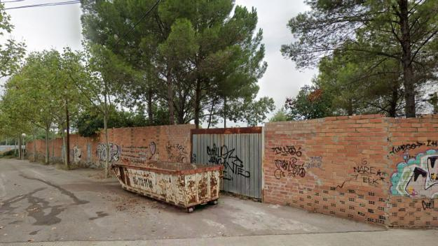 Imatge de la zona on s'havia d'ubicar el balneari / Foto: Google Street