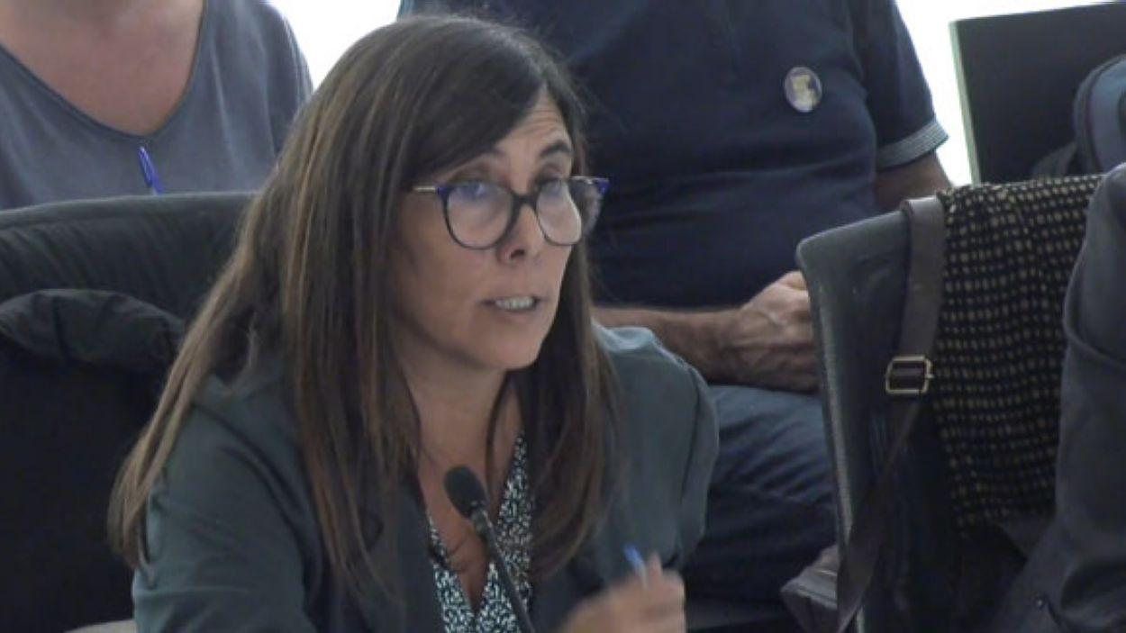 Cristina Paraira, regidora de Junts per Sant Cugat, en una imatge d'arxiu / Foto: Cugat Mèdia