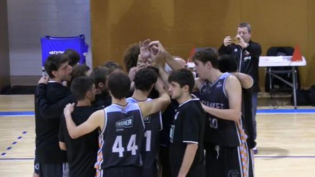 Imatge del primer equip del Qbasket Sant Cugat / Font: Qbasket Sant Cugat