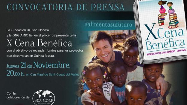 Cares conegudes es troben a Sant Cugat per recaptar fons per als infants de Guinea Bissau