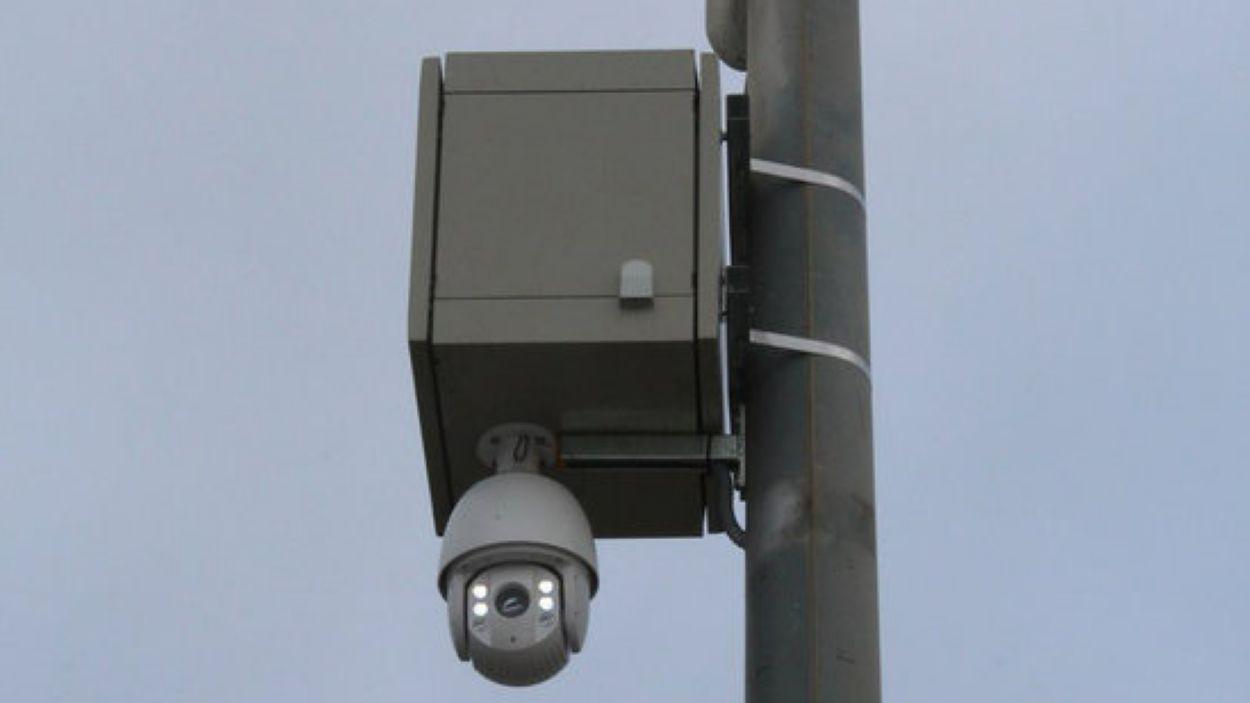 Una càmera lectora de matrícules / Foto: ACN