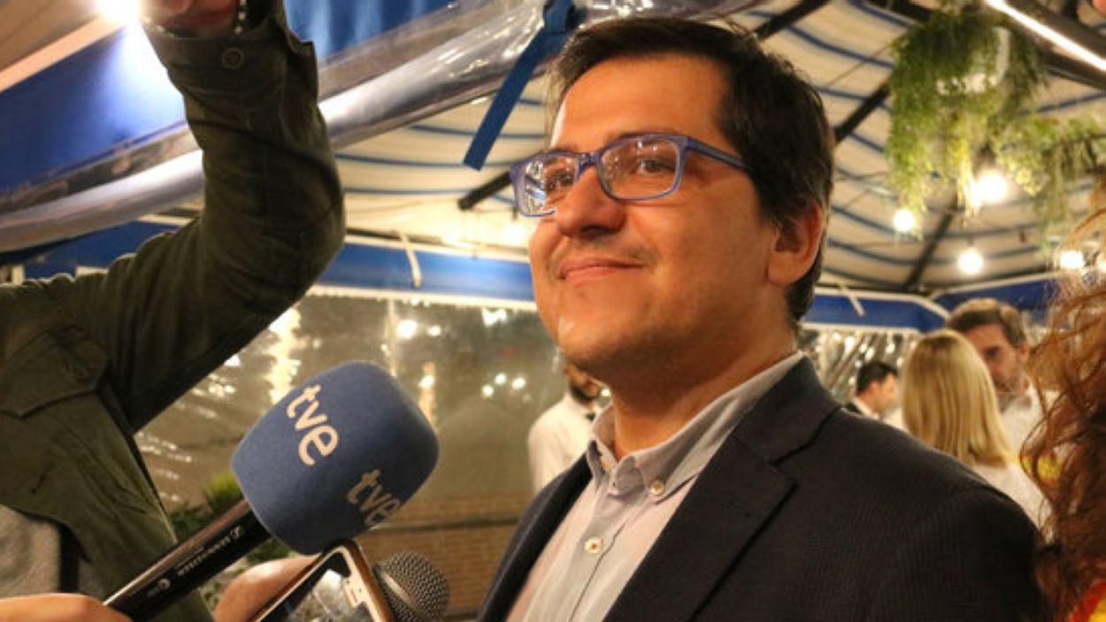 El diputat electe de Cs José María Espejo-Saavedra, veí de Sant Cugat / Foto: ACN