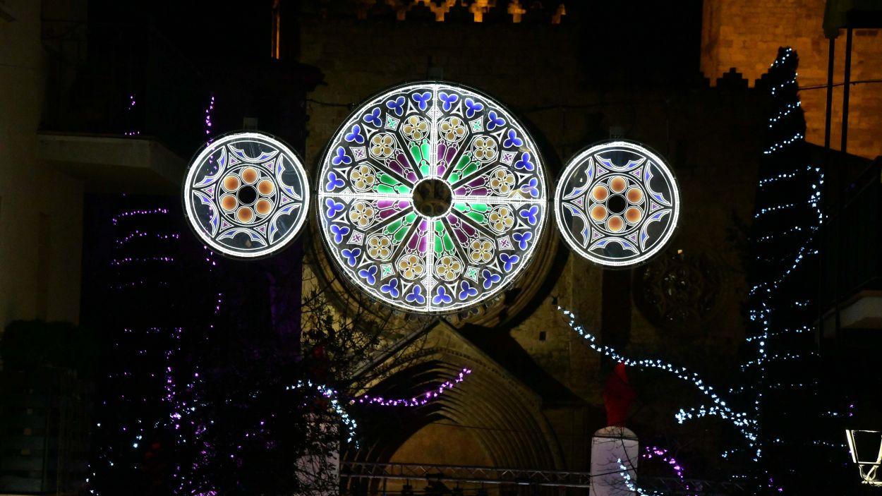 Els llums de Nadal de 2018 / Foto: Localpres