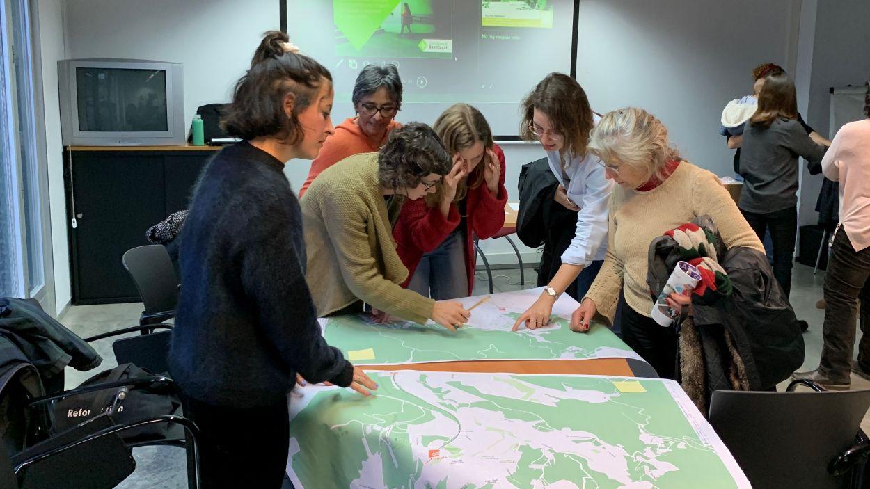 El mapa es farà a partir de sis marxes exploratòries / Foto: Cugat Mèdia