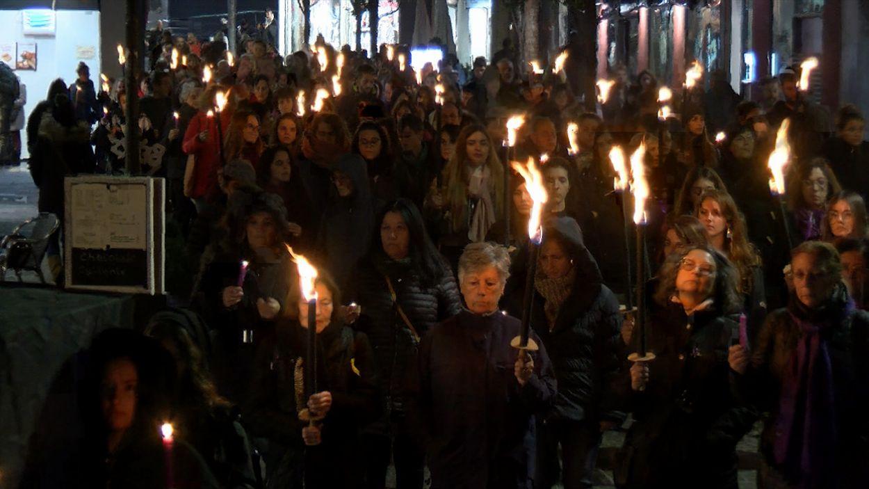 La marxa ha recorregut els carrers de Sant Cugat / Foto: Cugat Mèdia