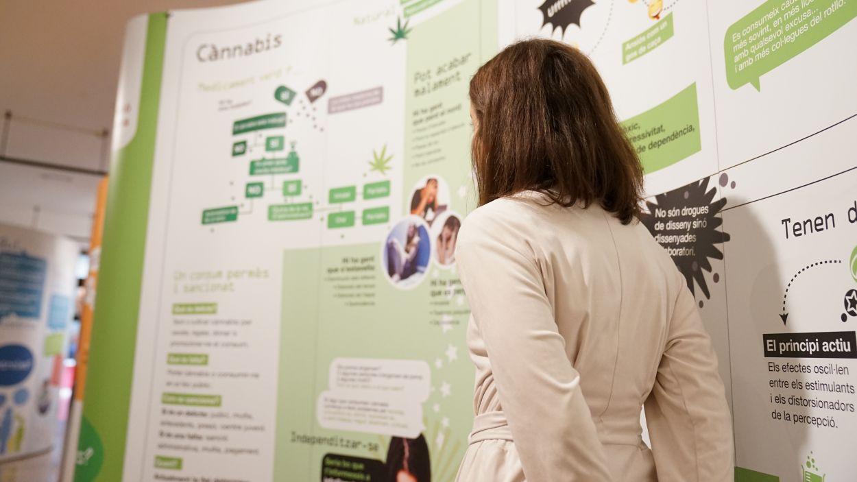 L'exposició es pot visitar a la Casa de Cultura / Foto: Guillem Babitsch (Cugat Mèdia)