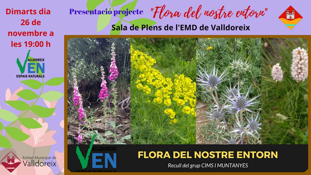 Presentació del projecte 'Flora del nostre entorn'