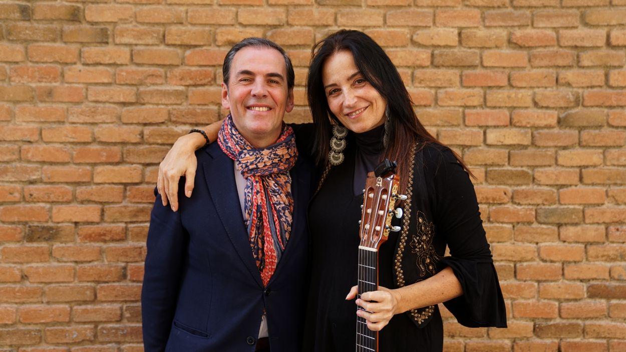Javier Montés i Anna Luna / Foto: Guillem Babitsch (Cugat Mèdia)