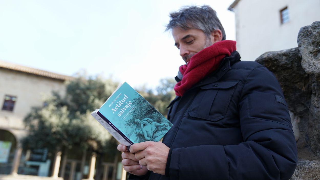 Nacho Bañeras ha presentat el seu llibre / Foto: Guillem Babitsch (Cugat Mèdia)
