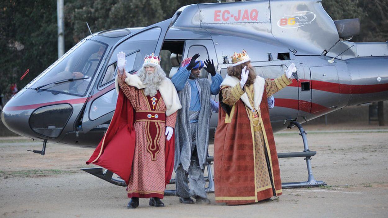 Ses Majestats arribaran en helicòpter al centre / Foto: Localpres