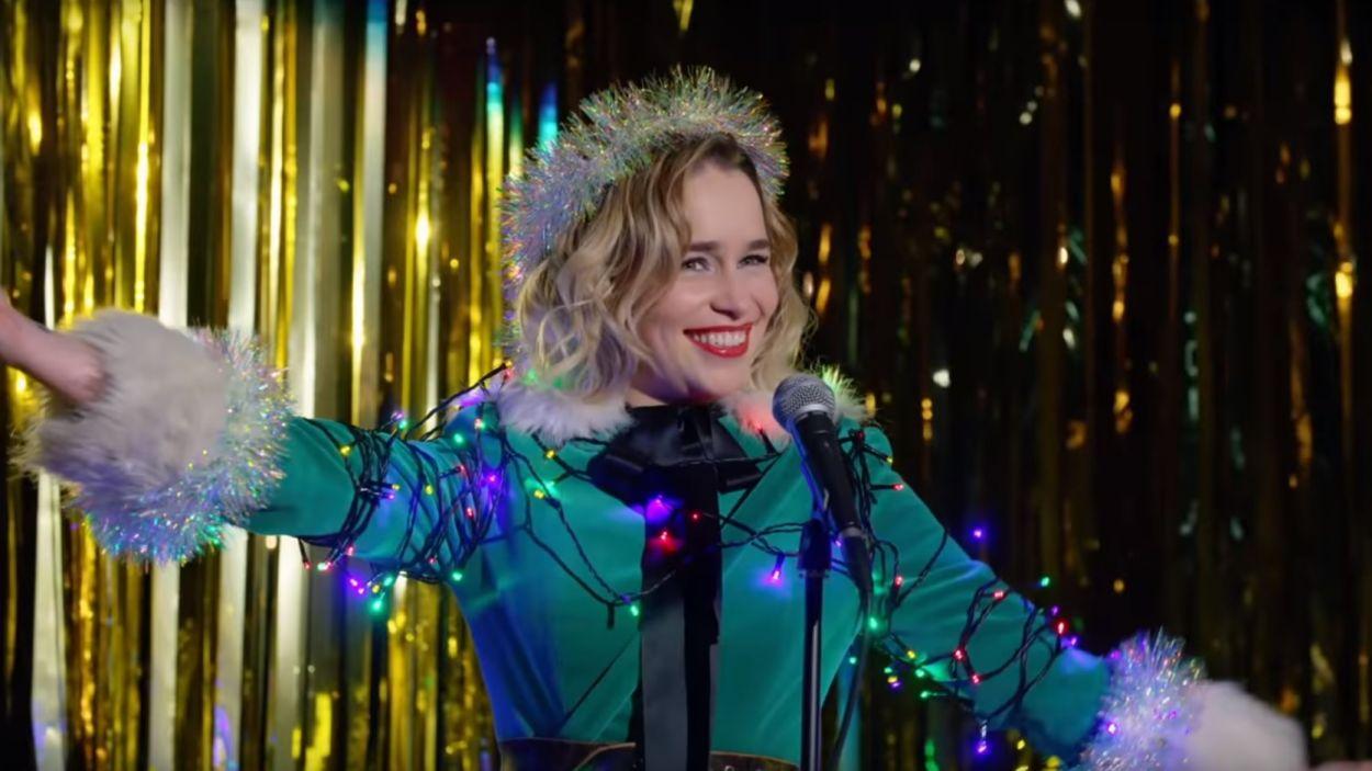 Emilia Clarke, protagonista de 'Last Christmas' / Foto:Frame trailer (Youtube)