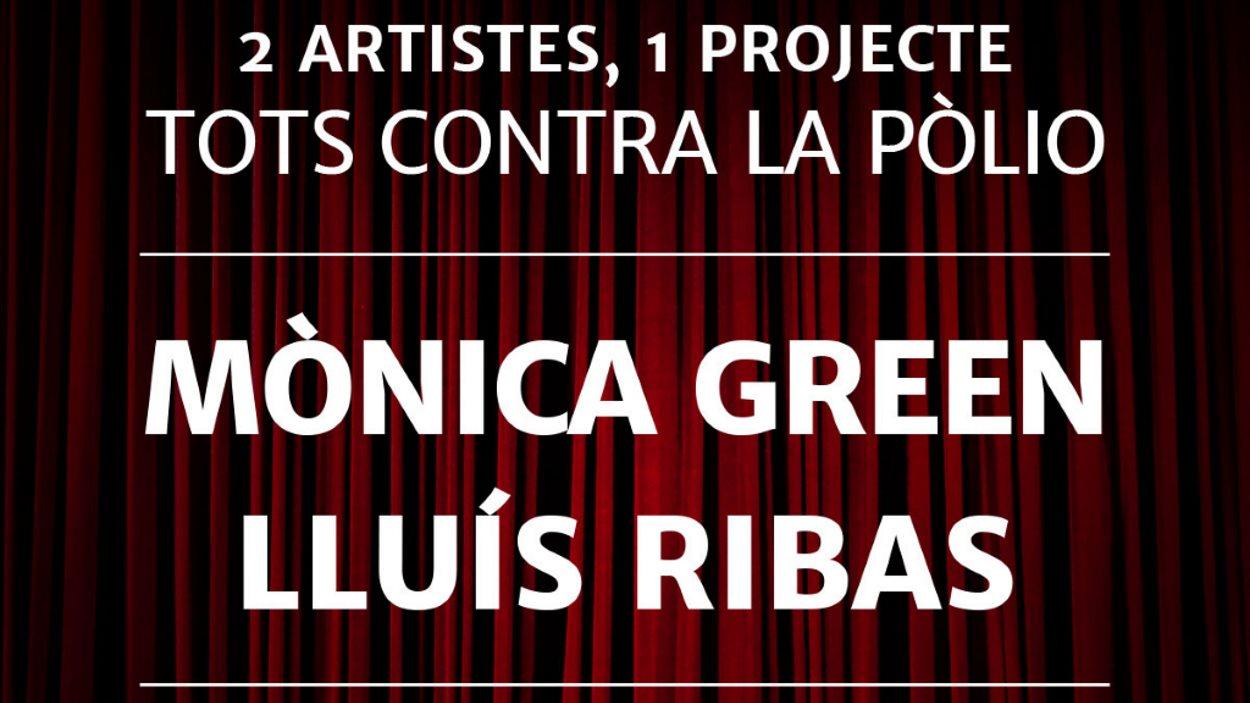 Espectacle pictòric musical amb Mònica Green i Lluís Ribas