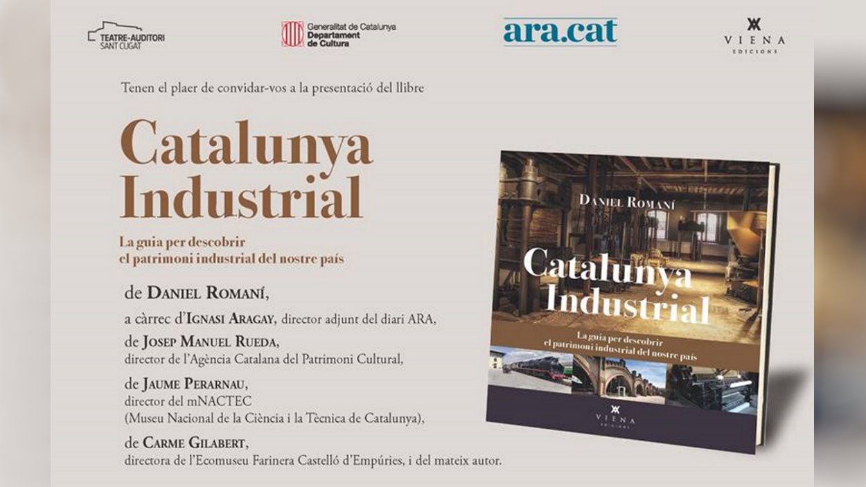 Presentació de llibre: 'Catalunya Industrial'