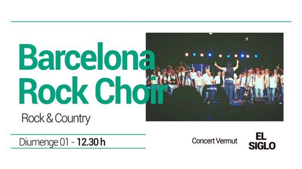 Concert-vermut a El Siglo: Barcelona Rock Choir