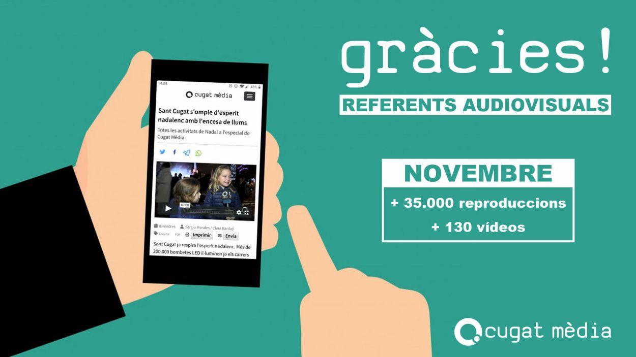 Cugat Mèdia és lider audiovisual / Foto: Cugat Mèdia