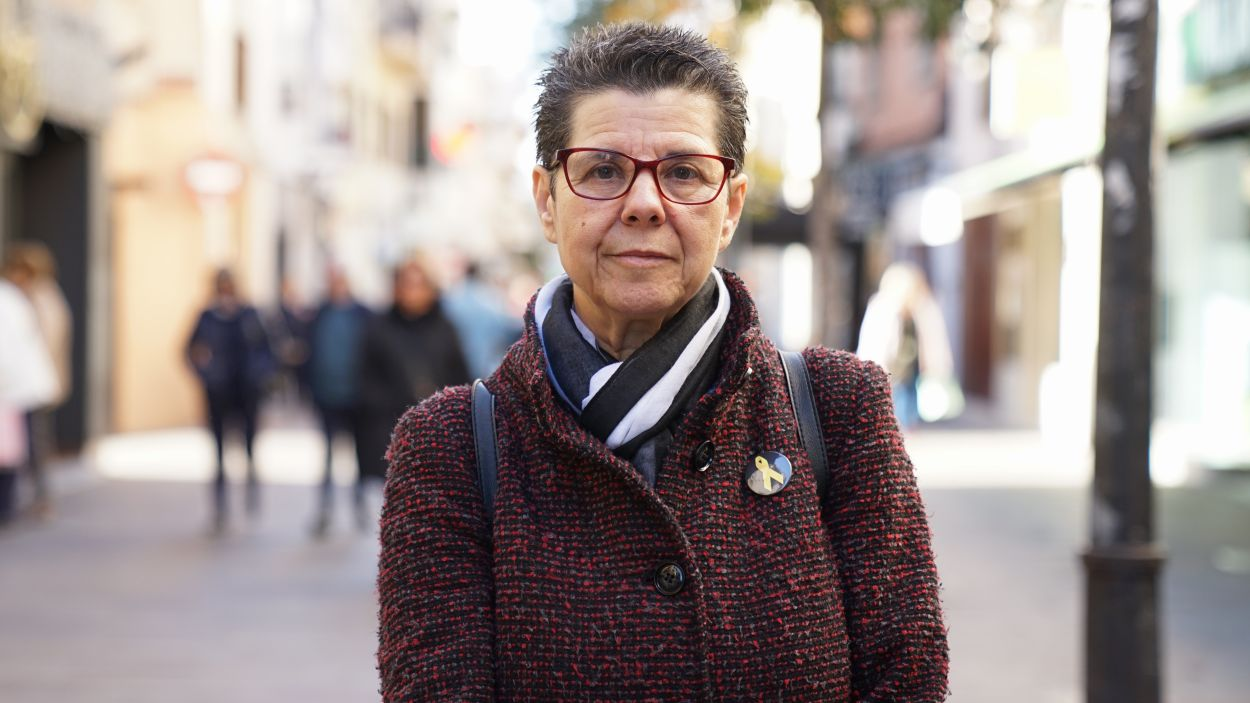 Vicki Bernadet ha visitat el 'Sant Cugat a fons' / Foto: Guillem Babitsch (Cugat Mèdia)