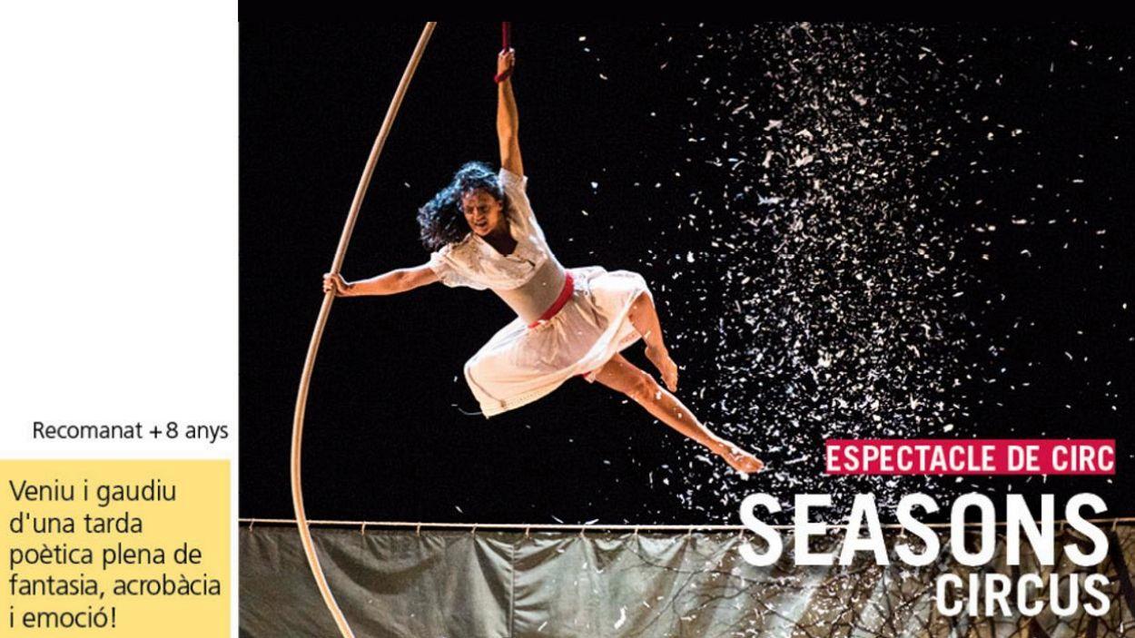 Cartell promocional de l'espectacle / Foto: Teatre-Auditori