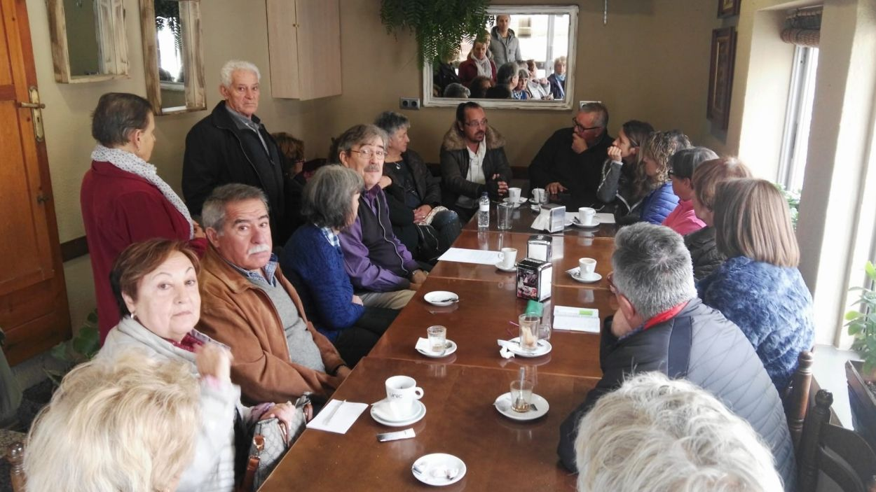 Imatge de la primera reunió del col·lectiu / Foto: Plataforma TM Sant Cugat