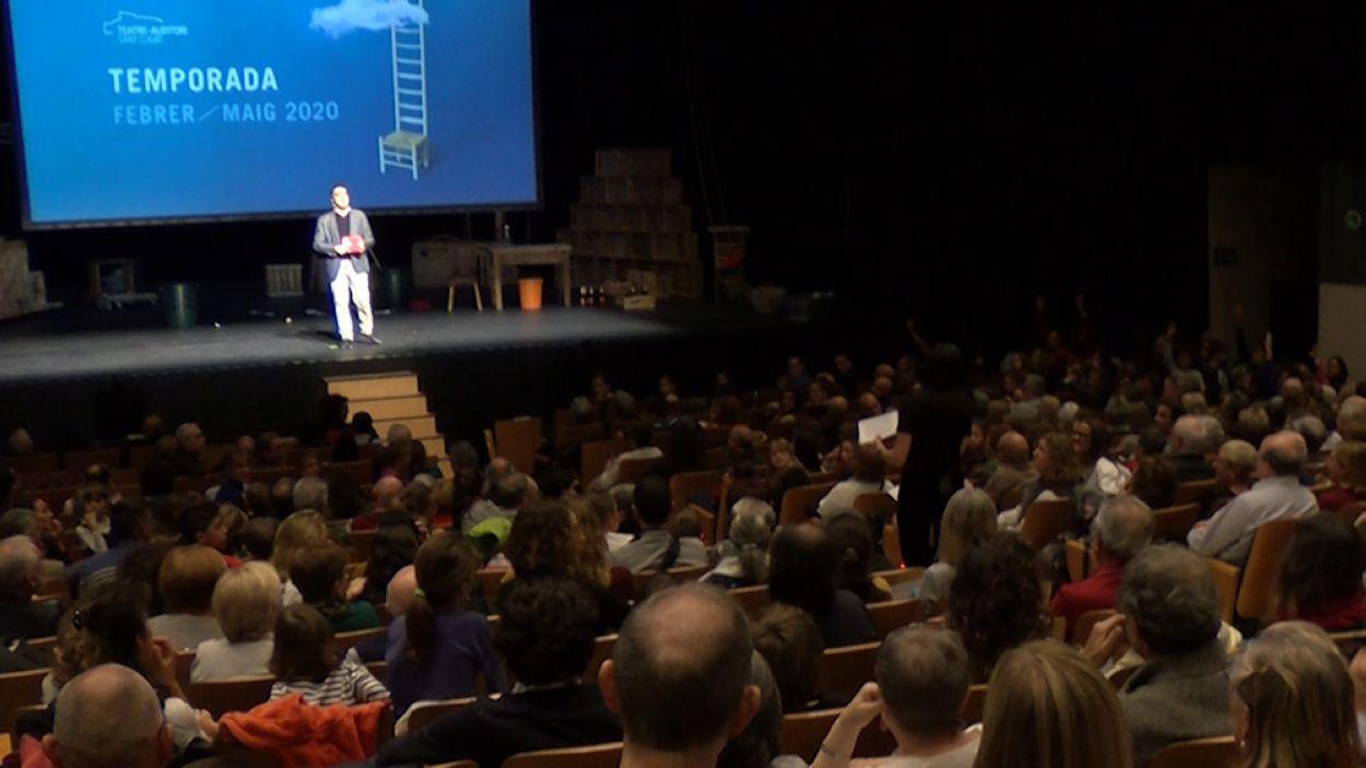 La presentació ha omplert el Teatre-Auditori Sant Cugat / Foto: Cugat Mèdia