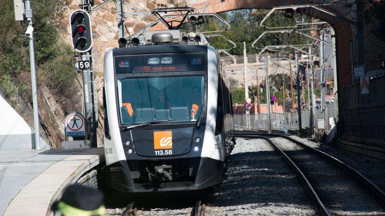 La Línia del Vallès fa parada en set estacions de Sant Cugat / Foto: Localpres