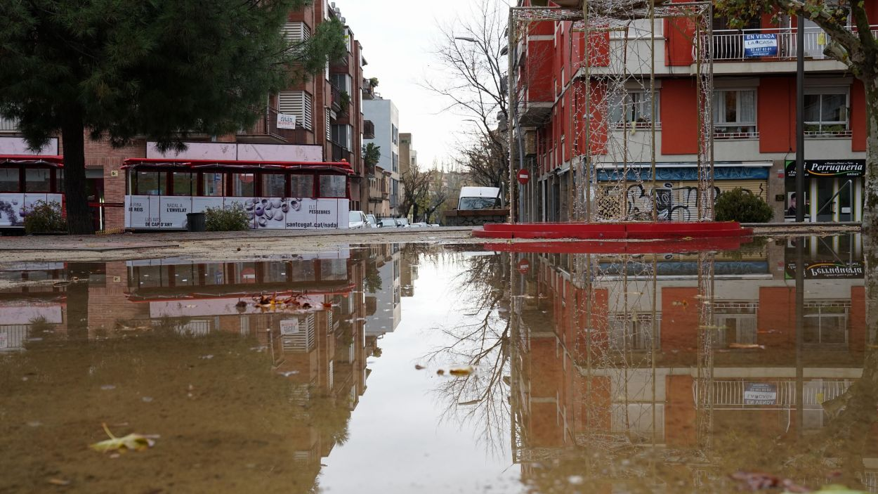 Imatge de la plaça del Coll / Foto: Cugat Mèdia (Guillem Babitsch)