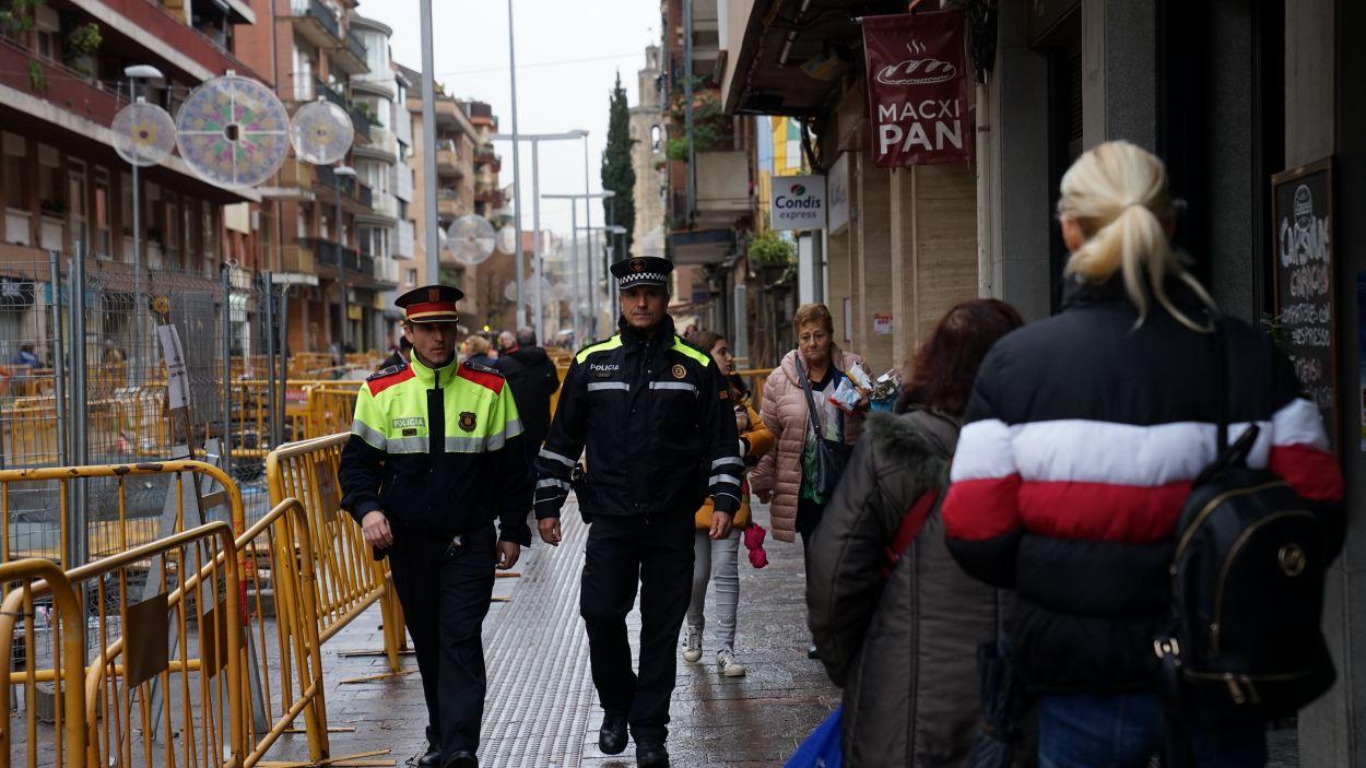 La detenció és fruit del dispositiu de vigilància i prevenció de robatoris a domicili a Sant Cugat / Foto: Guillem Babitsch (Cugat Mèdia)