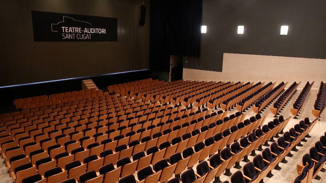 Imatge d'arxiu del Teatre-Auditori / Foto: Cugat Mèdia