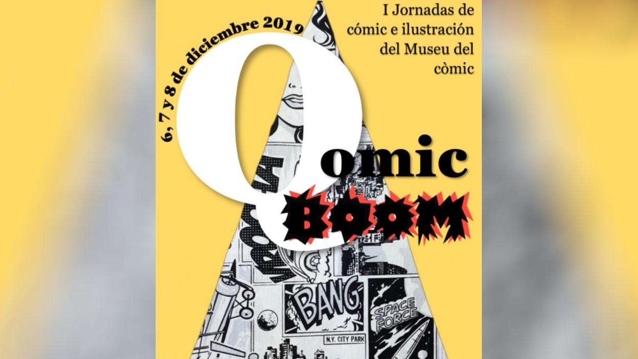 1es Jornades de còmic i il·lustració Qomic Boom