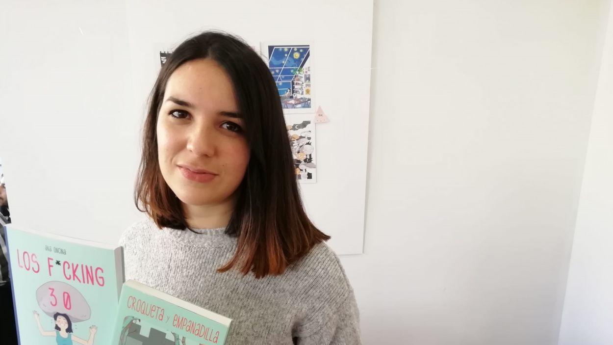 Ana Oncina, una de les artistes destacades del Qomic Boom / Font: Cugat Mèdia