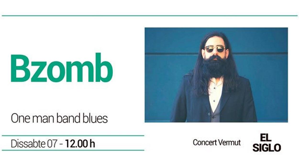 Concert-vermut a El Siglo: BZOMB - One Man Band Blues