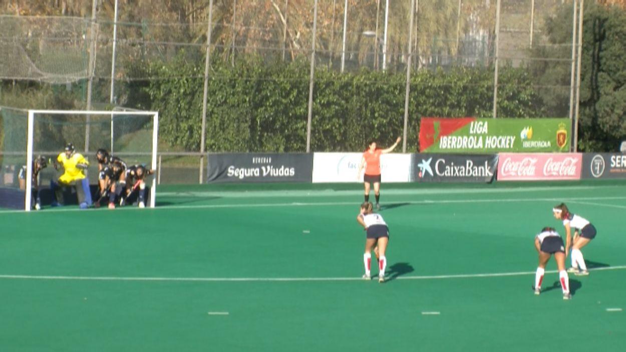 Imatge del darrer partit entre el Polo i el Junior a la lliga regular / Font: Cugat Mèdia