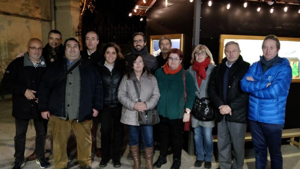 L'agrupació s'ha donat a conèixer amb motiu de la presentació del concurs de pessebres / Foto: Cugat Mèdia