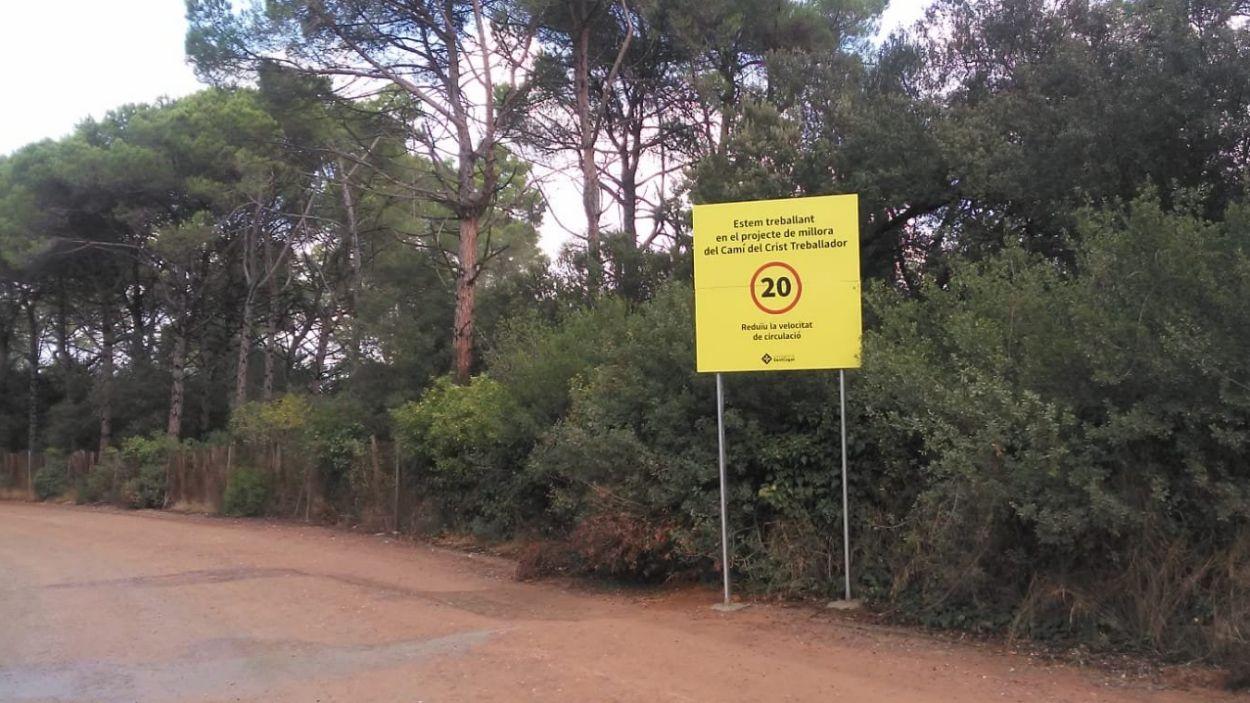 El camí uneix la Rabassada amb l'Avenç / Foto: Ajuntament