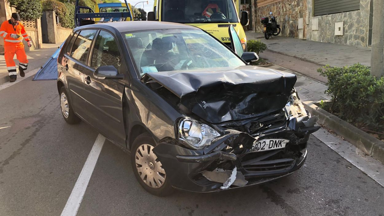 Imatge del vehicle accidentat / Foto: Cecida